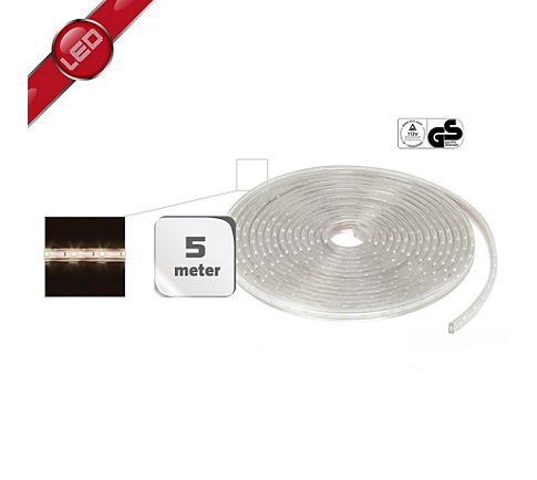 5 Meter LED slang Warm Wit