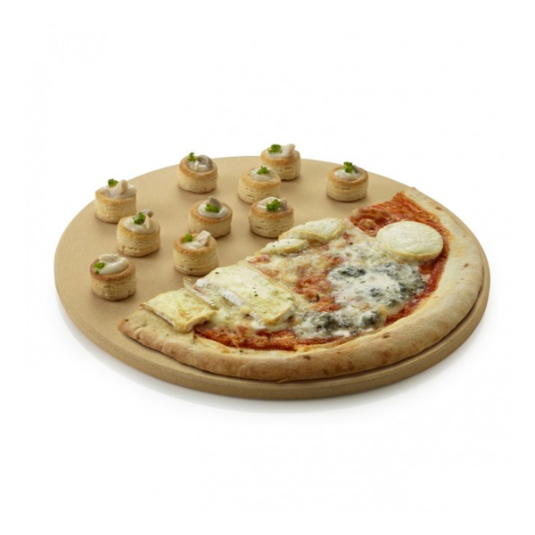 Barbecook Universele Pizzaplaat klei 36 cm