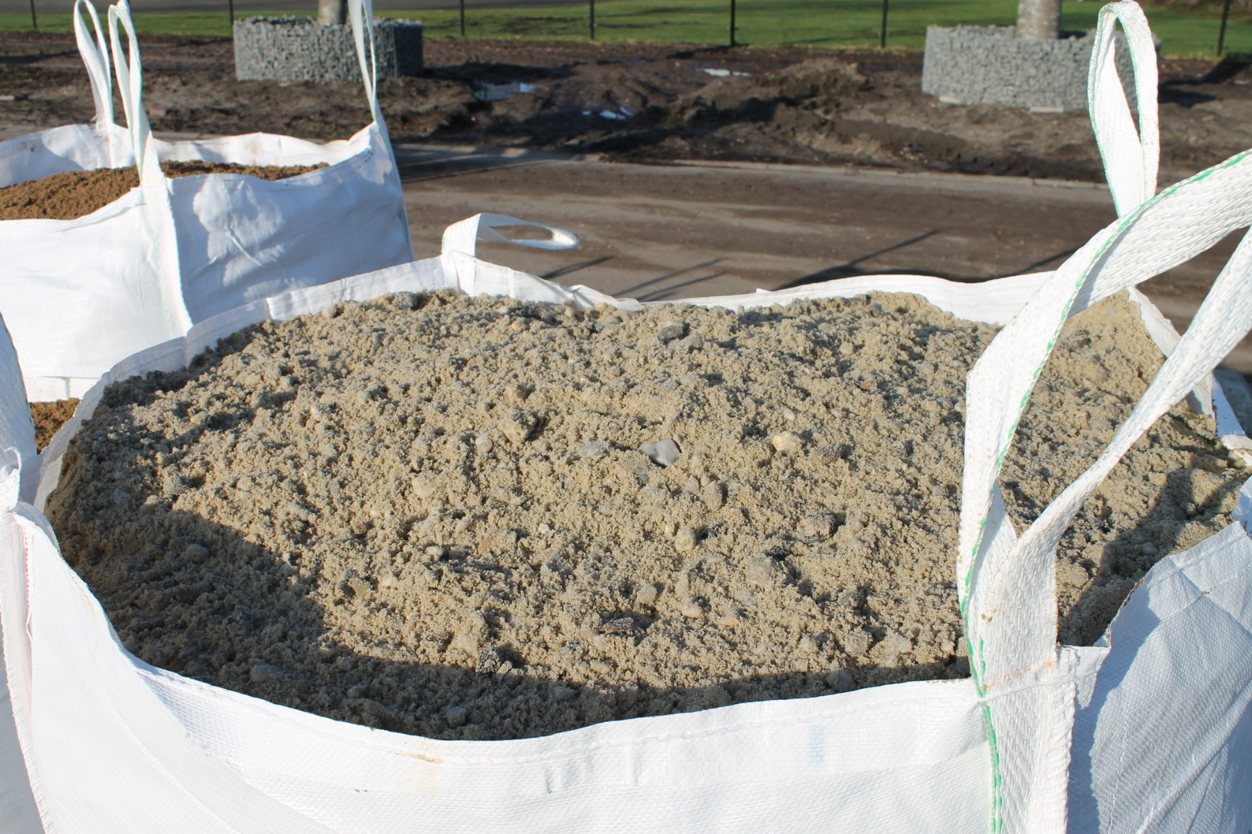 Zand-grind in BigBag