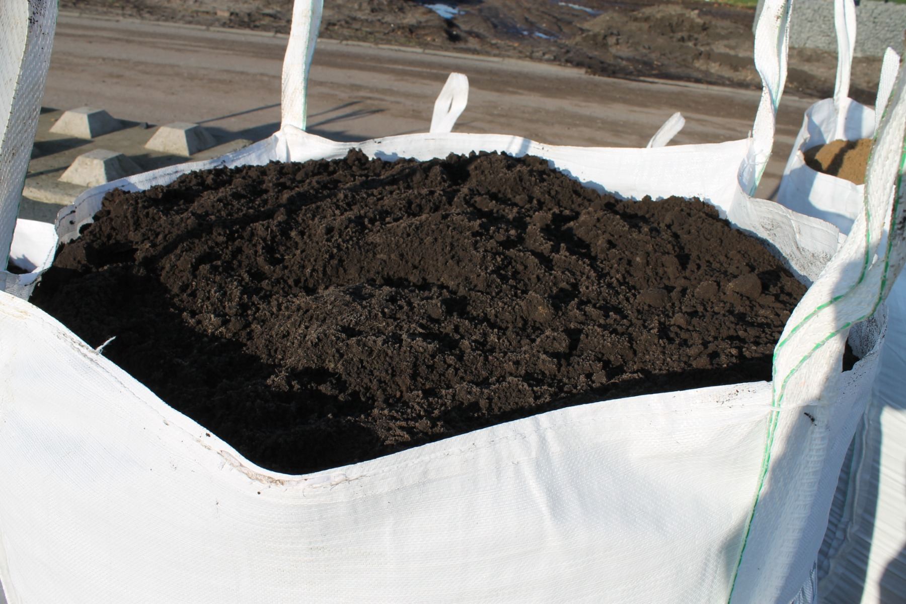 Teelaarde (zwarte grond) BigBag