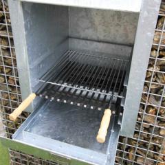 BBQ inzetrooster 43 cm breed x 40 cm diep