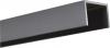 Alu U-Afdekprofiel 0,90 meter lang gepoedercoat steengrijs