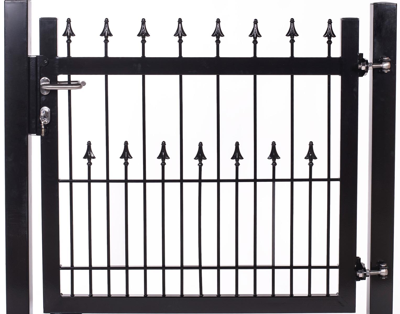 Tuinhek poortje U-30 met decor piek/piek