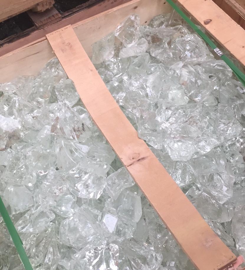 Glasbrokken Kristal