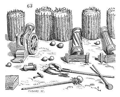 schanskorven in de 16e eeuw